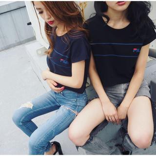 GYDA - GYDA❤️💙FILA ショートTシャツ