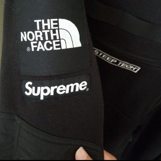 シュプリーム(Supreme)のSupreme NORTH FACE steep tech プルオーバー(マウンテンパーカー)
