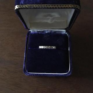 カシケイ ブラウンダイヤモンド フルエタニティリング (リング(指輪))