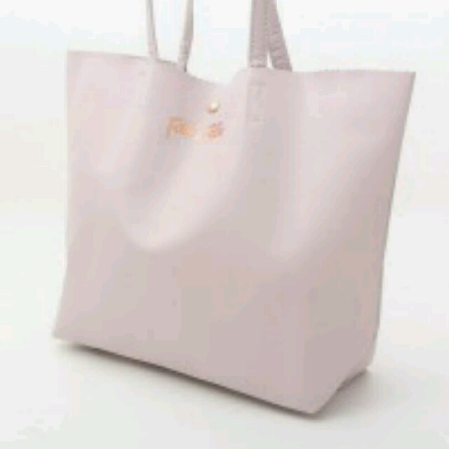 Folli Follie(フォリフォリ)のフォリフォリ♪レザー風大人ピンクトート◆ レディースのバッグ(トートバッグ)の商品写真