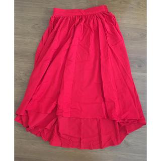 シマムラ(しまむら)のミディ丈 フィッシュテールスカート(ひざ丈スカート)