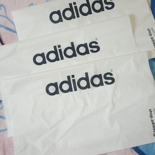 アディダス(adidas)のアディダス 紐付き 三枚セット ショップ袋(ショップ袋)
