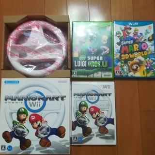 Wii U - Wii Wiiuソフト4本 マリオ、ドラゴンボール
