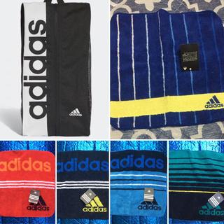 アディダス(adidas)のアディダス2点セット.シューズバック&タオルハンカチ一枚(シューズ)