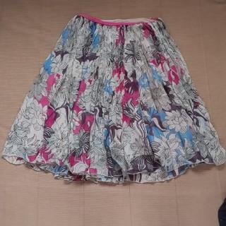 ツモリチサト(TSUMORI CHISATO)のシフォンスカート(ひざ丈スカート)