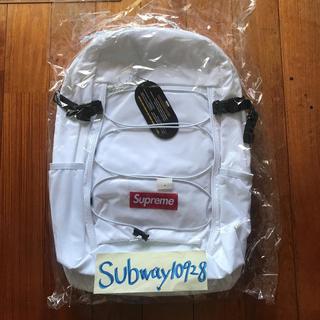シュプリーム(Supreme)の送料無料 17AW Supreme Backpack WHITE(バッグパック/リュック)