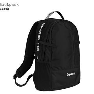 シュプリーム(Supreme)のsupreme backpack black 黒 18ss 2018ss(バッグパック/リュック)