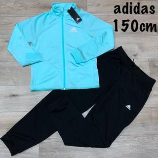 adidas - 150 女の子 ジャージセットアップ アディダス ジャージ 薄手 長袖 長ズボン