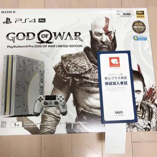 PlayStation4 - PS4 PRO ゴッドオブウォー リミテッドエディション 長期保証あり
