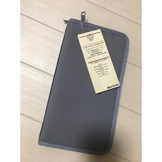 ムジルシリョウヒン(MUJI (無印良品))の無印良品パスポートケースクリアポケット付(旅行用品)