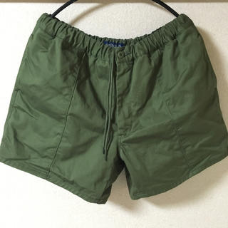 L/XL CUP AND CONE Cotton Baggy Shorts(ショートパンツ)