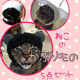 愛猫に♡猫のかぶりもの (猫)