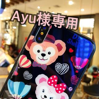 ディズニー(Disney)のAyu様専用 ダッフィーiPhoneケース(iPhoneケース)