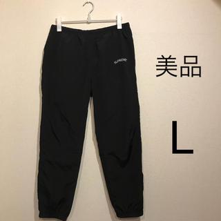 シュプリーム(Supreme)のSupreme Arc Track Pant L 黒 トラックパンツ 34(その他)
