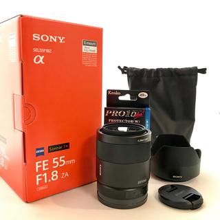 ソニー(SONY)のSONY Carl Zeiss FE 55mm F1.8 【中古】(レンズ(単焦点))