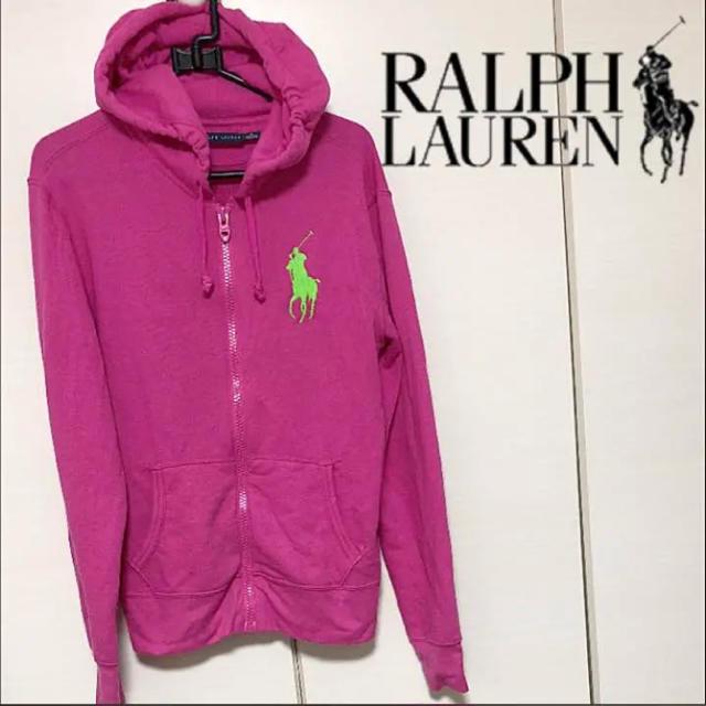 Ralph Lauren(ラルフローレン)のラルフローレン M ビックポニー 薄手 スウェット パーカー レディース キッズ レディースのトップス(パーカー)の商品写真