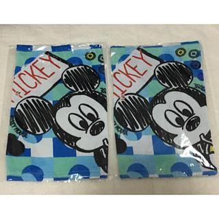 ディズニー(Disney)のDisneyミッキーループタオル2セット(新品)(タオル)