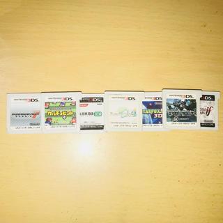 ニンテンドー3DS(ニンテンドー3DS)の3DSソフトまとめ売り!⚠︎単独売り、値下げはしません(携帯用ゲームソフト)