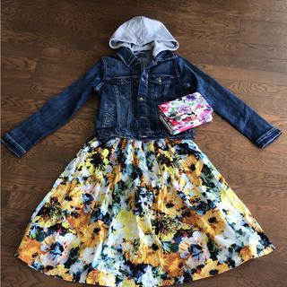 シマムラ(しまむら)のしまむら  花柄スカート (ひざ丈スカート)