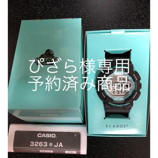 エクストララージ(XLARGE)のXLARGE G-SHOCK GD-100 未使用品(腕時計(デジタル))