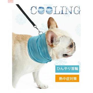 Loobani 犬用 クールバンダナ ひんやり首輪 ペット用品 熱(猫)