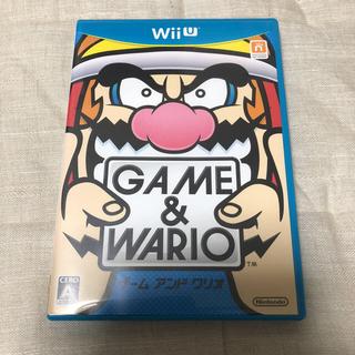 Wii U - ゲームアンドワリオ wii U ソフト