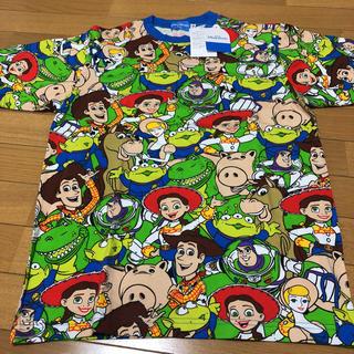 ディズニー(Disney)のディズニー トイストーリー総柄Tシャツ(キャラクターグッズ)