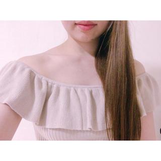 ザラ(ZARA)の新品未使用♡forever21♡オフショルトップスZARA  h&m (カットソー(半袖/袖なし))