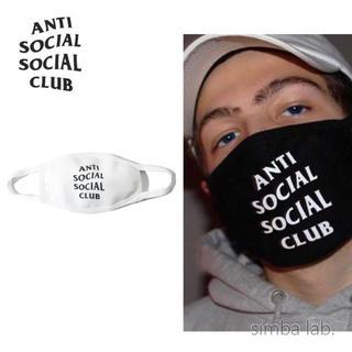 ANTI SOCIAL SOCIAL CLUB マスク ホワイト(その他)