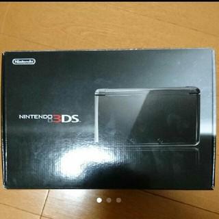 ニンテンドー3DS(ニンテンドー3DS)の3DS 本体 コスモブラック(携帯用ゲーム本体)