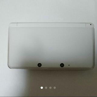 ニンテンドー3DS(ニンテンドー3DS)の3DS 本体 白(携帯用ゲーム本体)