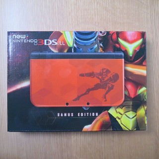 ニンテンドー3DS(ニンテンドー3DS)のnew ニンテンドー 3DS LL サムスエディション(携帯用ゲーム本体)