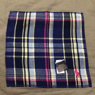 ポロラルフローレン(POLO RALPH LAUREN)のポロラルフローレン タオルハンカチ 未使用(ハンカチ/ポケットチーフ)