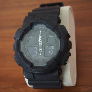 ジーショック(G-SHOCK)のCASIO G-SHOCK  GA-100-1A1JF(腕時計(アナログ))