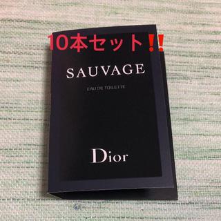 クリスチャンディオール(Christian Dior)の10本セット❣️ 大セール‼️クリスチャン・ディオール ソヴァージュ 新品(香水(男性用))