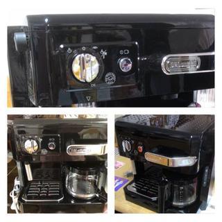デロンギ(DeLonghi)のデロンギ コンビコーヒーメーカー BCO410J-B/ブラック YKK様専用(エスプレッソマシン)