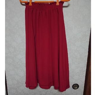 シマムラ(しまむら)のミモレ丈スカート(ひざ丈スカート)