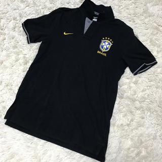 ナイキ(NIKE)のナイキ 黒ポロシャツ ブラジル代表(ウェア)