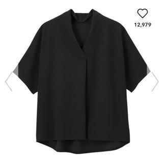 ジーユー(GU)のGU♡ジーユー♡フロントタックプルオーバー(カットソー(半袖/袖なし))