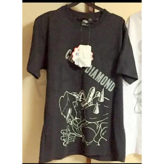 シマムラ(しまむら)の新品 ジョジョの奇妙な冒険 Mサイズ Tシャツ クレイジーダイヤモンド(Tシャツ/カットソー(半袖/袖なし))