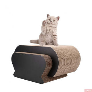 CamRom猫の爪とぎ ベッド、マルチ活動のための究極(猫)