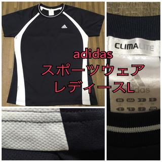 アディダス(adidas)の美品♡ アディダス Tシャツ レディース L(トレーニング用品)
