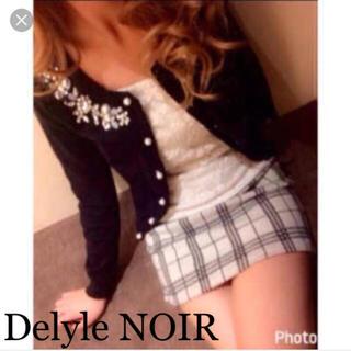 デイライルノアール(Delyle NOIR)のDelyle NOIR  チェックタイトスカート(ミニスカート)