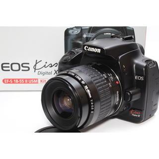 キヤノン(Canon)の❤️憧れのCanon一眼レフ❤️Canon EOS Kiss X レンズキット(デジタル一眼)