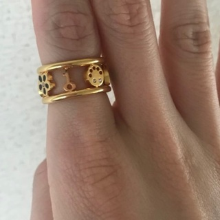 マークバイマークジェイコブス(MARC BY MARC JACOBS)のマークの指輪(リング(指輪))