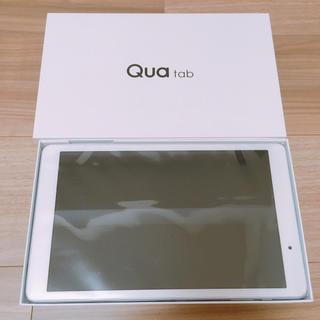 キョウセラ(京セラ)の新品未使用☆au Qua tab2(タブレット)