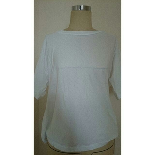 デミルクスビームス(Demi-Luxe BEAMS)の新品未使用☆INSCRIRE/アンスクリアTシャツSサイズ白(Tシャツ(半袖/袖なし))