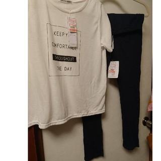 シマムラ(しまむら)の新品 しまむら Tシャツ レギンスセット(Tシャツ(半袖/袖なし))