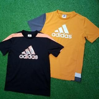adidas - アディダス【140】Tシャツ2枚セット