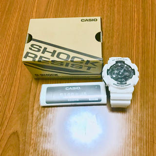 ジーショック(G-SHOCK)の夏定番カラー 白 G-shock値段交渉あり!(腕時計(デジタル))